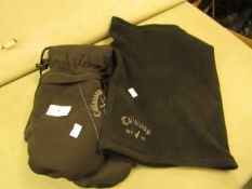 Callaway Snood & Mittens Set ( Look Unused )