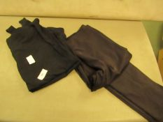 2 X Items Being 1 X Maiden Form Leggings Size M & 1 X Jane Bleecker Top Size L