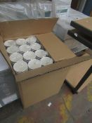 Box Containing 1000 Hot Paper Cups - Unused & Packaged.