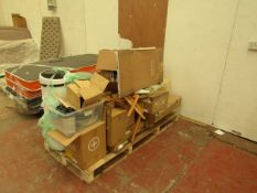 | 1X | PALLET OF MADE.COM FAULTY AND PARTS MISSING ITEMS | CUSTOMER RETURNS |