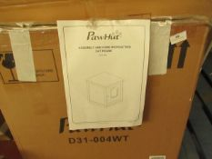 | 1X | PAW HUT CAT LITTER HOUSE | UNCHECKED NAD BOXED | SKU D31-004 | RRP £45.99 |