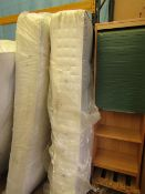| 1X | REST ASSURED BUCKINGHAM 1000 POCKET KING SIZE | EXDISPLAY BUT HAS DIRTY MARKS WHERE THE