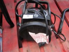 1x Clarke Heat Devil 2000 PTC, This lot is a Machine Mart product which is raw and completely