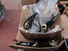 8x Box Of Various Water Pumps, This lot is a Machine Mart product which is raw and completely