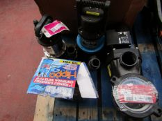 4x Various Water Pumps, This lot is a Machine Mart product which is raw and completely unchecked and