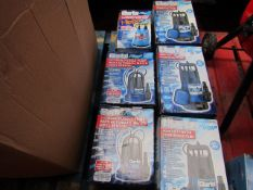 6x Various Water Pumps From Clarke, This lot is a Machine Mart product which is raw and completely