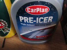 2x - Carplan - Pre-Icer - 500ml - Unused.