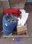 Pallet of mixed items including medical, Blue lights and more