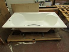 Roca BeCool 1900 x 1100 double ended acrylic bath, new and boxed. RRP £1199.99 | Please only bid