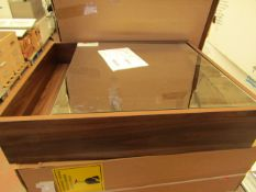 Integra mirror cabinet, new and boxed.