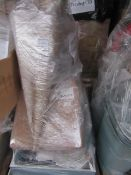A pallet of Mixed raw customer returns and sample stock, the pallet is unmanifested and typically