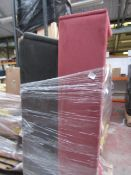   1X   PALLET OF 2X SWOON SOFAS, BOTH MISSING CUSHIONS NAD FEET, RAW CUSTOMER RETURNS AND NOT