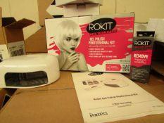 Rokit Gel polish Professional kit - Incomplete set, Boxed