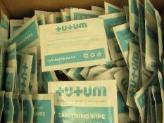 Box of 500x Rickamore enterprises wipe sachet - New & Boxed