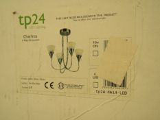TP 24 Led Lighting - Chartres 4 way crossover - 4x10W max - Unchecked & Boxed