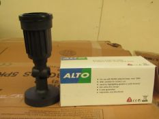 4x Alto - IP44 wall port - Unchecked & Boxed