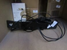 Type S rear view camera with monitor, unchecked in used condition.