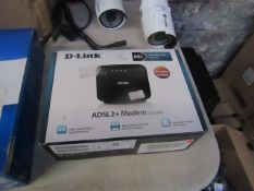 D-link ADSL2+Modem, Unchecked & Boxed