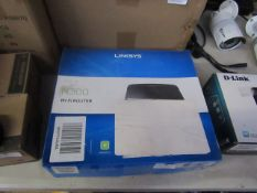 Linksys N300 WI-FI router, Unchecked & Boxed