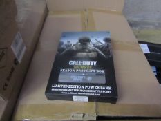 10x Call of duty ww2 season pass gift box, New & Boxed,only contains power bank