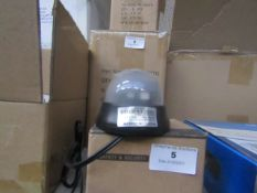 2x Dome small cameras, unchecked and boxed.