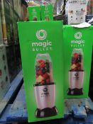 | 9X | THE MAGIC BULLET BLENDER | UNCHECKED AND BOXED | NO ONLINE RESALE | SKU C5060191467360 |
