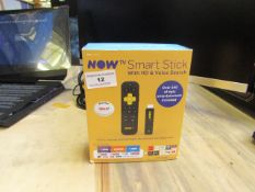 Now TV Smart stick with HD and Voice search, unchecked and boxed