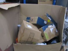 | 1x | PALLET OF APPROX 15-25 UNMANIFESTED RAW CUSTOMER RETURNS WHICH LOOKS TO BE MAINLY YAWN AIR