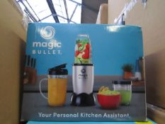 | 6X | THE MAGIC BULLET BLENDER | UNCHECKED AND BOXED | NO ONLINE RESALE | SKU C5060191467360 |