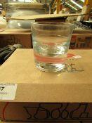 2x Pasabahce - Service Line Grande Tumber Glasses -135cc - Box of 6 - Unused & Boxed.