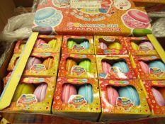 2x Macarons Slime - 6 Various Slimes - ( Box of 12) Unused & Boxed.
