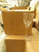 4x Long Stem Glasses (Box of 6) - New & Boxed.