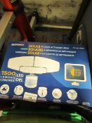 Sunforce - Solar Motion Activated Light - 1500 Lumens - Unchecked & Boxed.