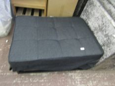 Euro lounger foot stool sofa be, the hinge bracket on the lid has snapped