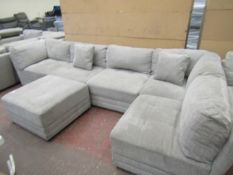 Mstar 6 piece sectional sofa, looks in good conditin could do with a clean in places