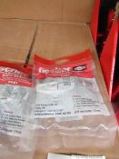 10x Fischer - Hand Rinse & Corner Basin Bracket (1 Set of Brackets Per Pack) - Unused & Packaged.