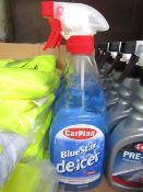 1x Carplan - Blue Star De-icer Spray - 750ml - Unused.