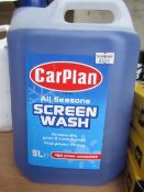 Carplan - All Seasons Screen Wash - 5 Litre - Unused & Sealed.