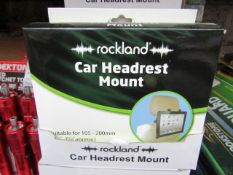 2x Rockland - Car Headrest Mount - New & Boxed.