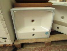 Vitra 500mm 1TH basin, new and boxed.