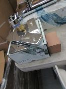 Vitra built-in basin mixer (exposed parts), new and boxed.