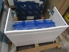 Villeroy & Boch vanity unit, 750 xm 550 x 426mm, new and boxed.