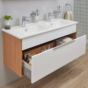 Vitra Integra vanity basin 120cm, new and boxed. RRP £624.99 | Picture is for display purposes