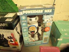 Powerman Max - Educational Robot - Unchecked & Packaged.