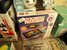 Genius Square - Activity Puzzle - Unchecked & Boxed.