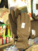 HEAD - Waterproof & Breathable Mens Hybrid Gloves In Grey - Good Condition.