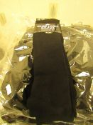 12 X Pairs of Girls Black Knee High Socks with Lycra Size 12-3 New & Packaged