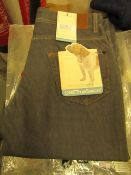 1 x One True Saxon Mens Grey Rinse Jeans size 32W 35L new with tag