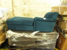 | 1X | PALLET CONTAINING 3 MADE.COM CHAISE SOFA PARTS, PLEASE NOTE THIS IS THE CHAISE PART ONLY |