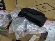 Black Beanie with Built in Earphones - New & Packaged